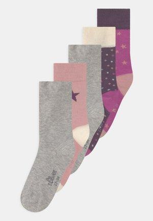 JUNIOR ORIGINALS STARS 5 PACK - Socks - radiant orchid