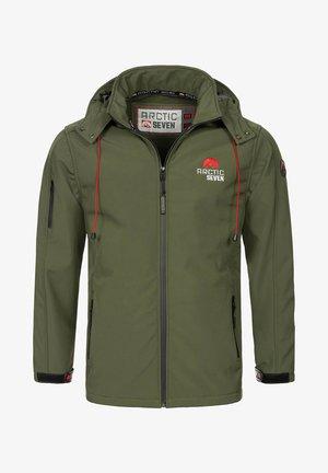 Outdoor jacket - olivgrün