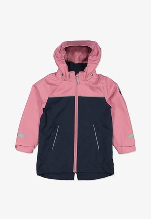 Waterproof jacket - heather rose