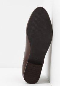 Anna Field - LEATHER CHELSEAS - Ankelstøvler - dark brown - 6