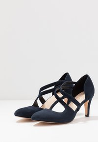 Anna Field - LEATHER PUMPS - Classic heels - dark blue - 4