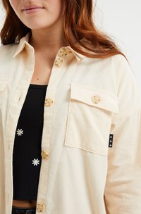 WE Fashion - CORDUROY - Camicia - off-white - 2