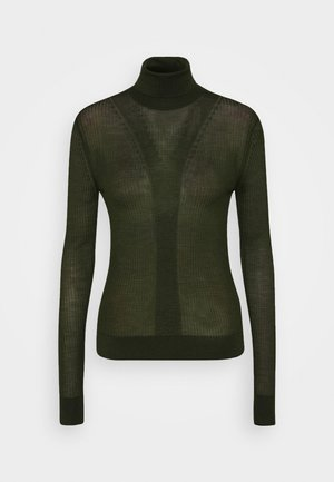 SYMIS - Pullover - black green