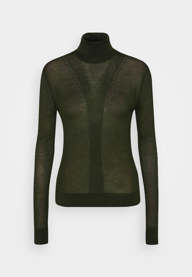 SYMIS - Pullover - black green