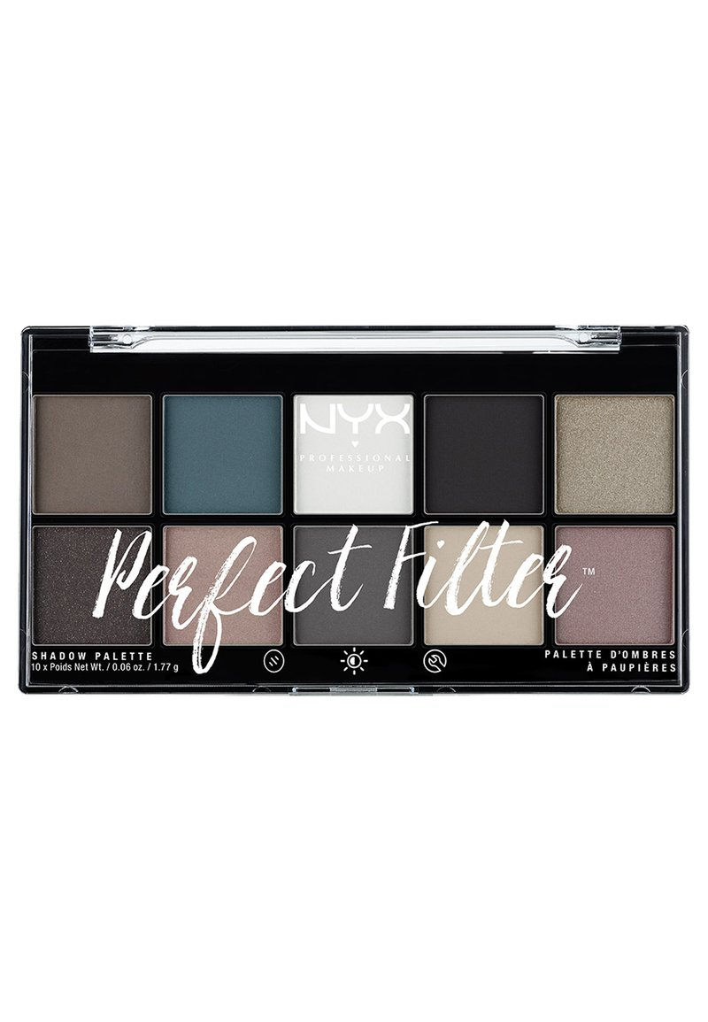 Nyx Professional Makeup - PERFECT FILTER SHADOW PALETTE - Paleta cieni - 4 gloomy days