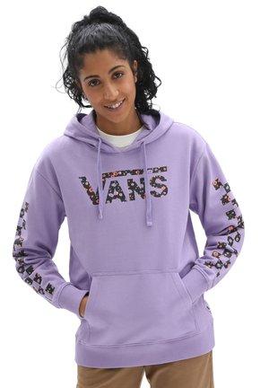 WM WYLD TANGLE II HOODIE - Hoodie - chalk violet