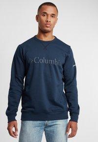 Columbia - Logo Crew - Bluza - collegiate navy puff logo - 0