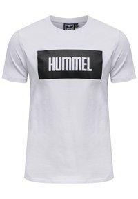 Hummel - 2-PACK - Print T-shirt - black/white - 1