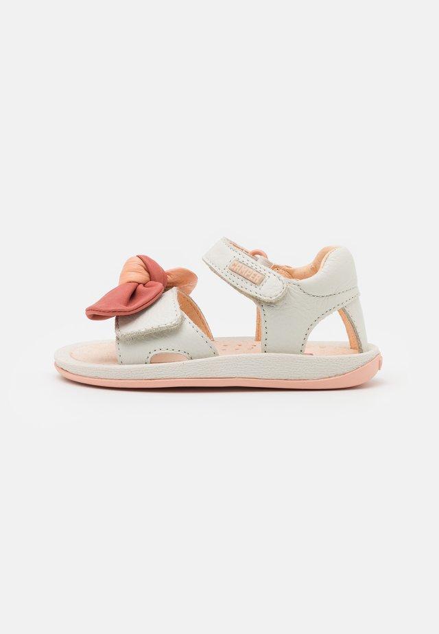 Sandalen - white/natural