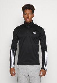 adidas Performance - AEROREADY PRIMEGREEN TRAINING - Sports shirt - black/white - 0