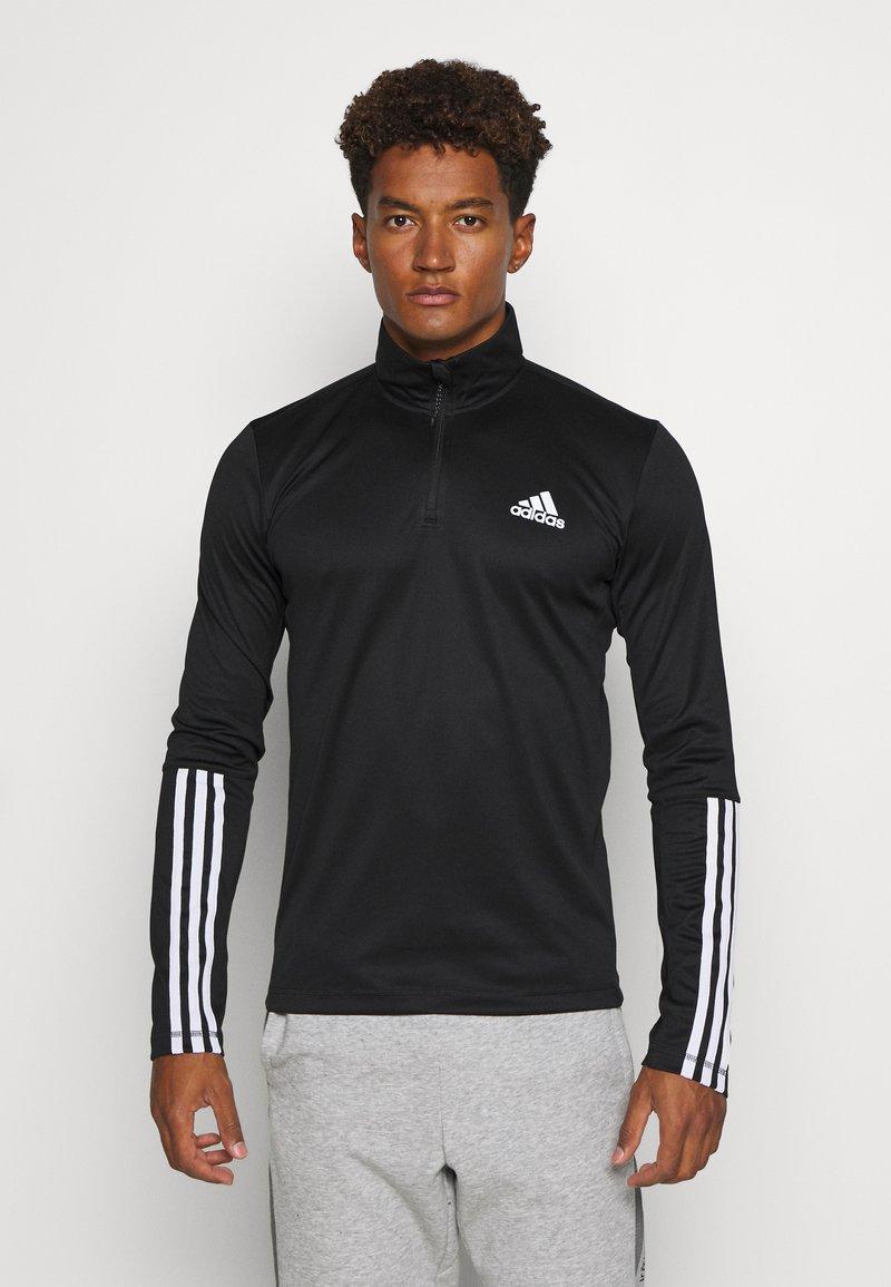 adidas Performance - AEROREADY PRIMEGREEN TRAINING - Sports shirt - black/white