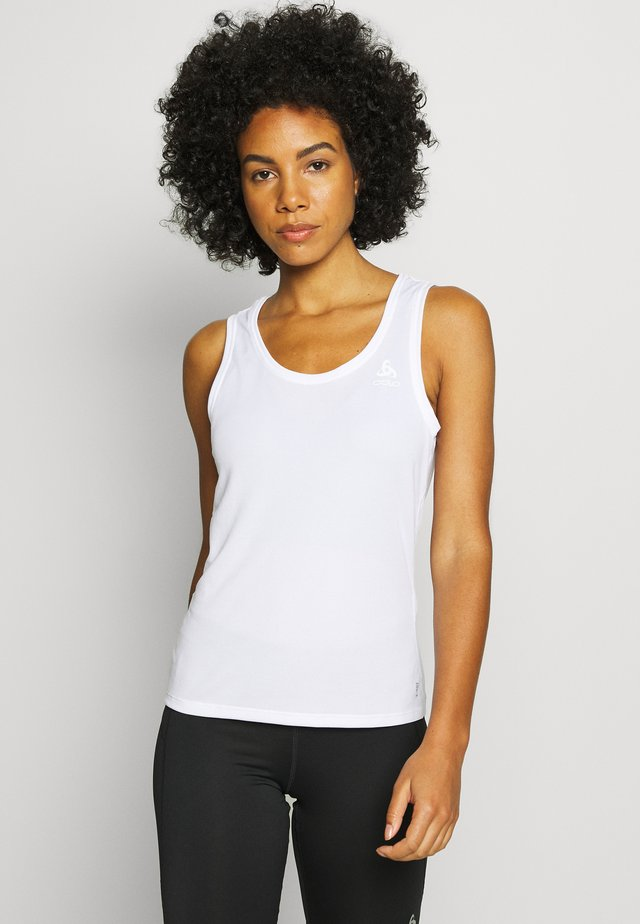 CREW NECK SINGLET ACTIVE F-DRY - Undertröja - white