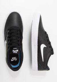 Nike SB - CHARGE PRM  - Trainers - black/white - 3