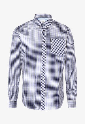 SIGNATURE GINGHAM - Shirt - dark blue