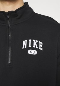 Nike SB - GRAPHIC MOCK UNISEX - Sweatshirt - black/white - 3