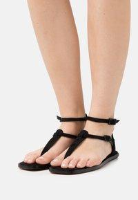 MIREIA PLAYÀ - VEGAN JULIETA - T-bar sandals - black - 0