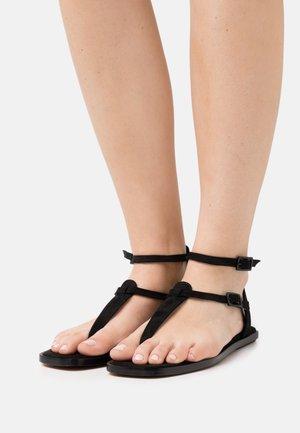 VEGAN JULIETA - T-bar sandals - black