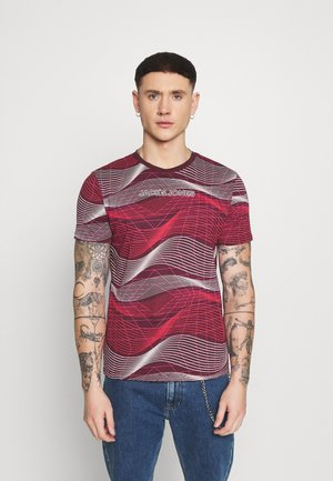 JCOBODIE TEE WITHOUT BACK - T-Shirt print - port royale