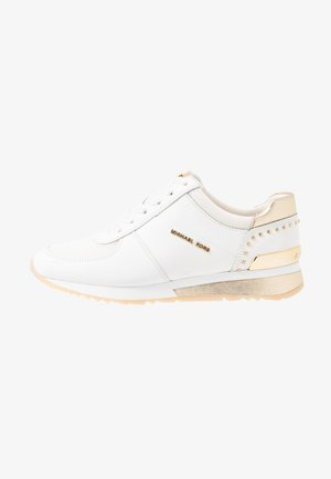 ALLIE WRAP TRAINER - Matalavartiset tennarit - optic white/platin gold