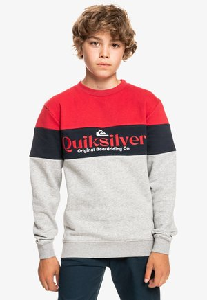BEACH TO SCHOOL  - Sweatshirt - american red