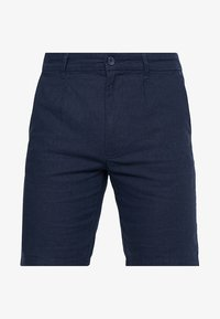 Only & Sons - ONSLOU LINEN MIX  SHORTS GW 3000 - Shorts - dress blues - 4