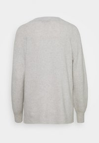 Madewell - JASON EX BOYFRIEND SWEATER - Jumper - heather smoke - 1