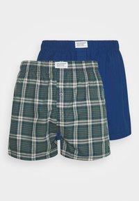 Levi's® - MEN CHECK 2 PACK - Boxer shorts - blue - 4