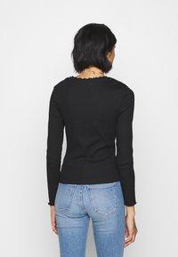 New Look - BABYLOCK TEE - Long sleeved top - black/white - 2
