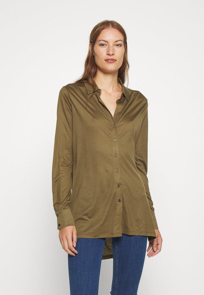 Lounge Nine - Button-down blouse - beech