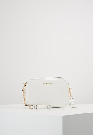 JET SET CAMERA BAG - Across body bag - optic white