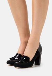Anna Field - LEATHER - Tacones - black - 0