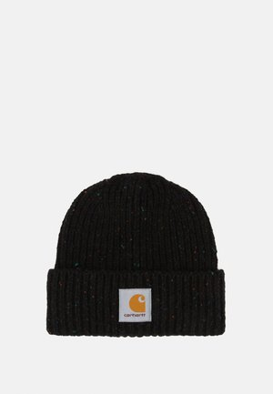 ANGLISTIC BEANIE  - Čepice - black heather