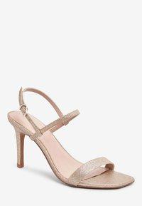 Next - High heeled sandals - gold - 2