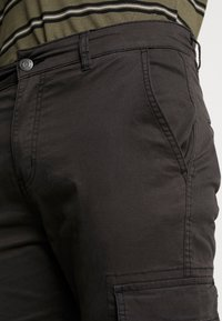 Denim Project - CARGO PANT PLAIN - Cargo trousers - black - 3