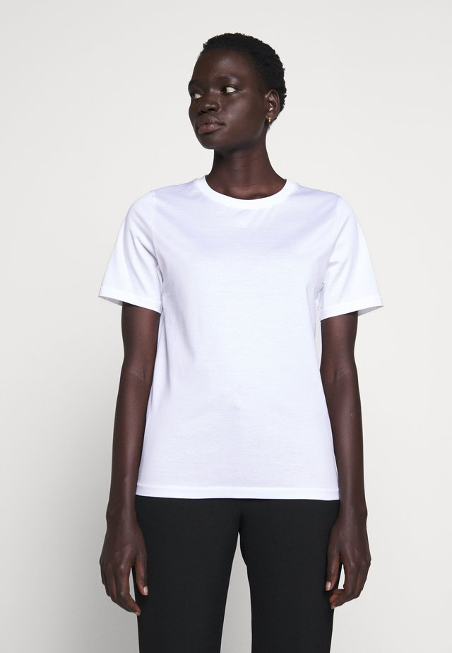 DEIRO - T-shirt basic - pure white