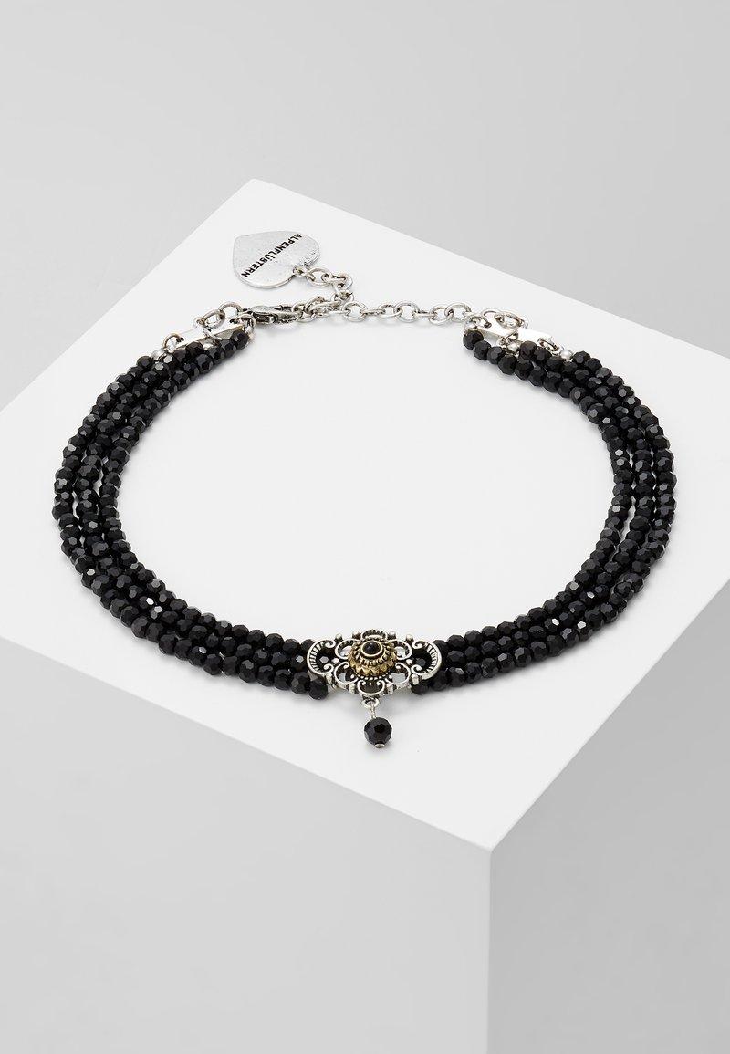 Alpenflüstern - HEDWIG - Halsband - schwarz