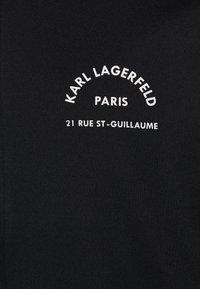 KARL LAGERFELD - Bluza rozpinana - black - 2