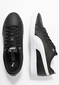 Puma - SMASH - Trainers - black/white - 3