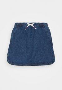 Benetton - ONLINE GIRL - Spódnica jeansowa - blue denim - 0