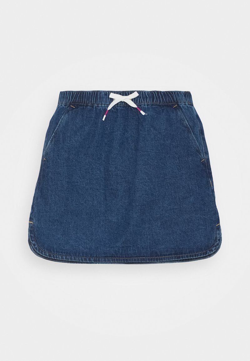 Benetton - ONLINE GIRL - Spódnica jeansowa - blue denim