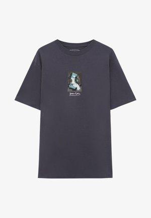 MIT WERK JUAN GRIS - T-shirt z nadrukiem - black