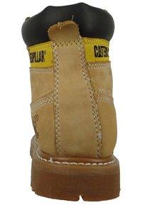 Cat Footwear - COLORADO - Šněrovací kotníkové boty - honey - 4