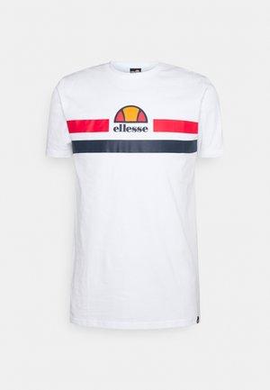 APRELA TEE - Print T-shirt - white