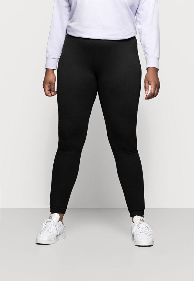 PCRELAX  - Teplákové kalhoty - black