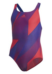 adidas Performance - GIRLS GRAPHIC SWIMSUIT - Maillot de bain - pink - 2