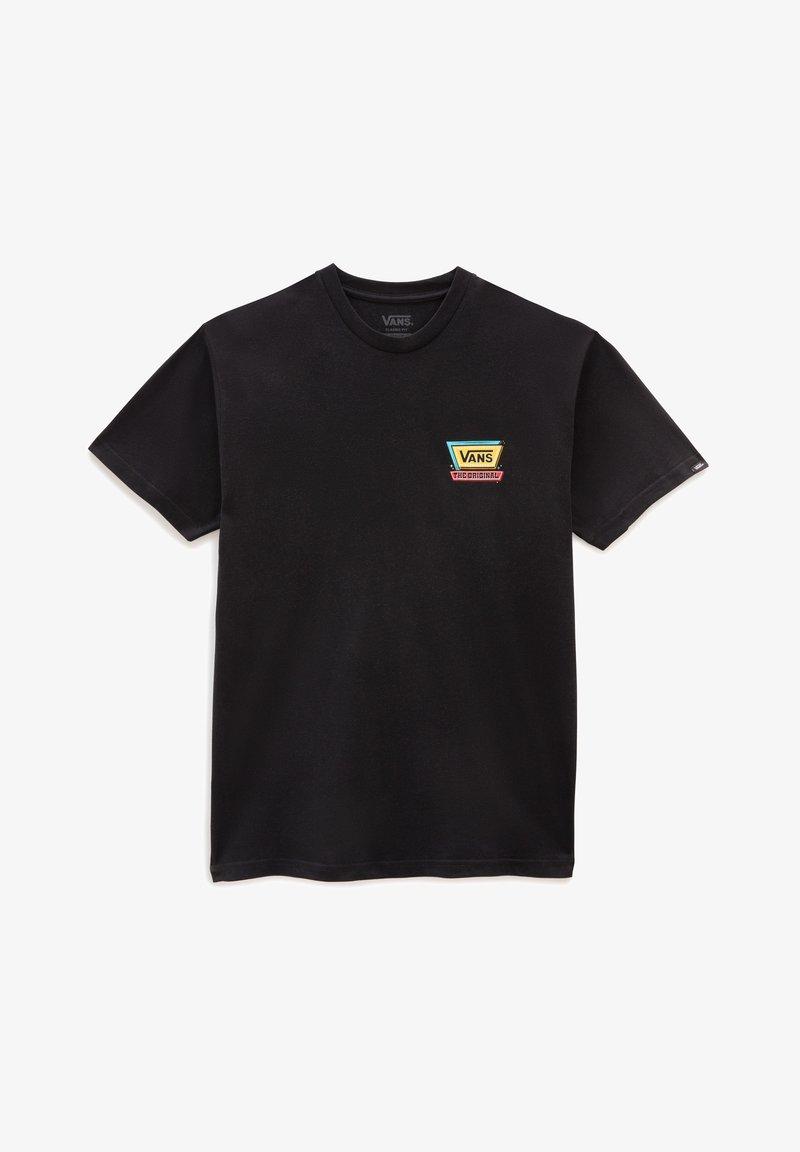 Vans - MN MOTEL 1966 SS - T-shirt con stampa - black
