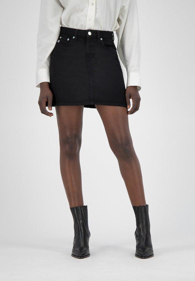 SOPHIE  - Denim skirt - dip black