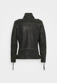 Tigha - NEVAN - Leather jacket - vintage black - 7