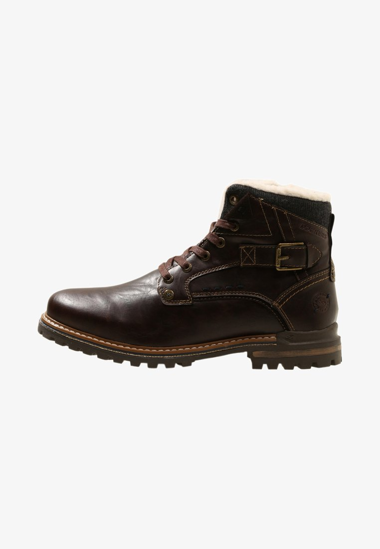 Dockers by Gerli - Lace-up ankle boots - dunkelbraun