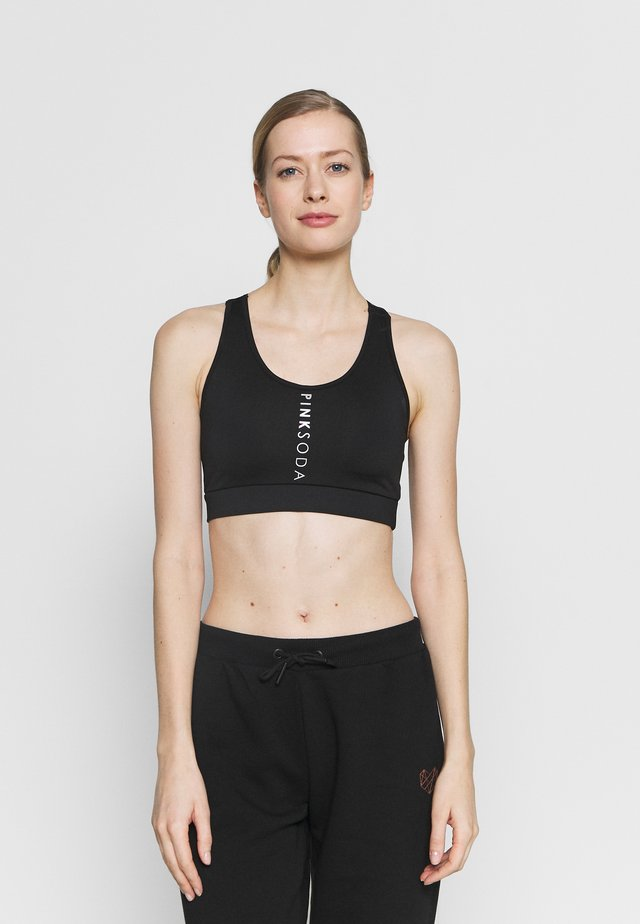 ALLEY BRA - Medium support sports bra - black